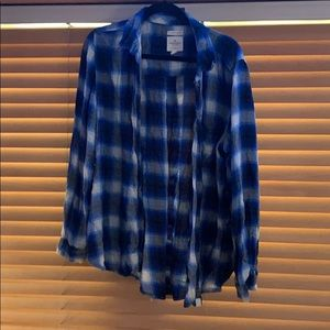 American Eagle Soft Oversized Flannel